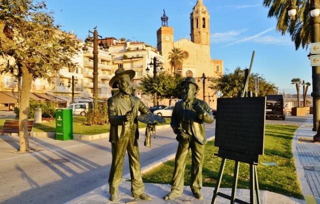 Plaza de la Fragata Sitges, Cataluña