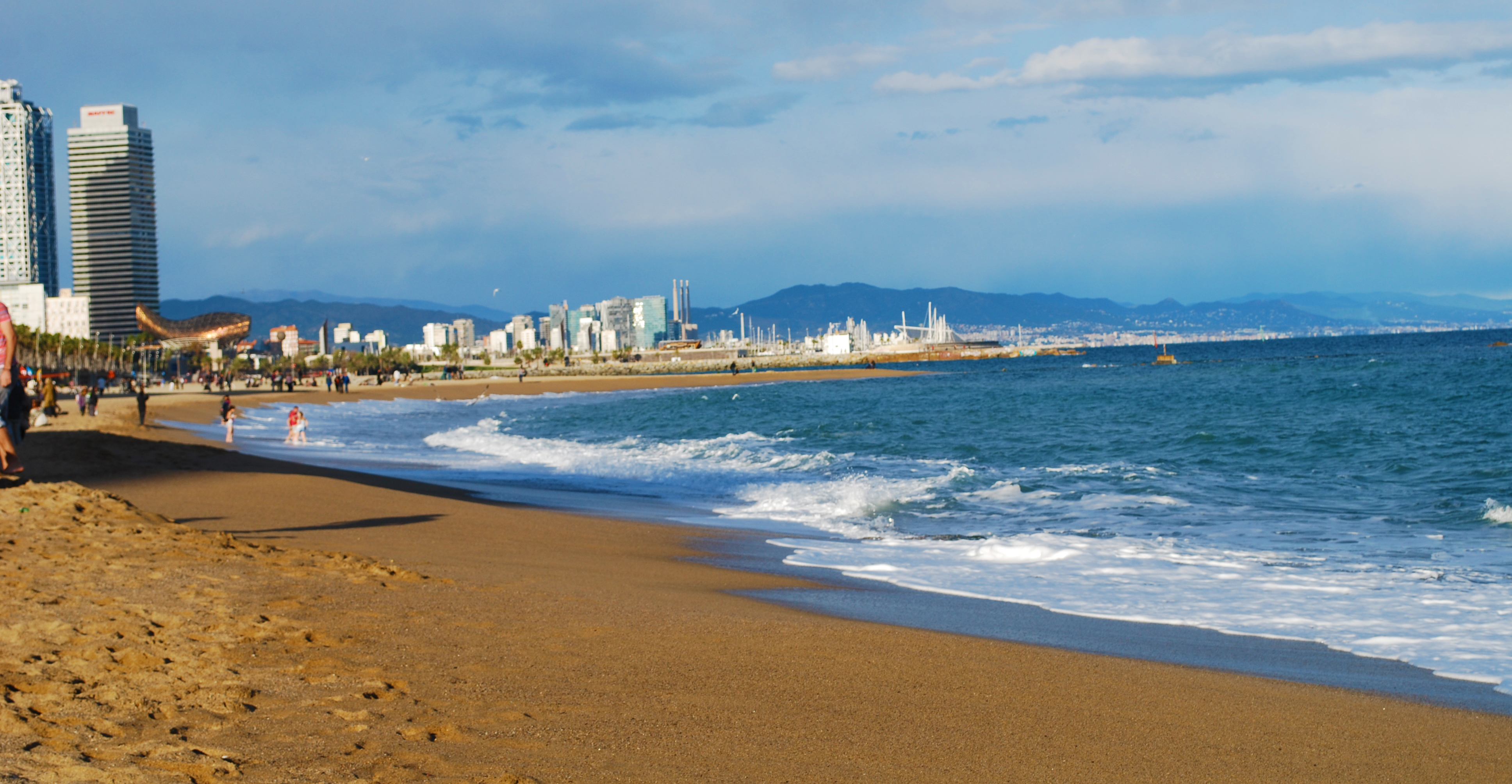 13.11.2015 BEACHES La Barceloneta Beach