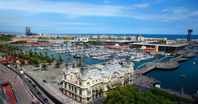 Port Vell Barcelona Spain