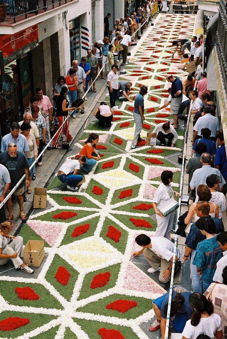 Corpus Christi: Sitges Flower Festival