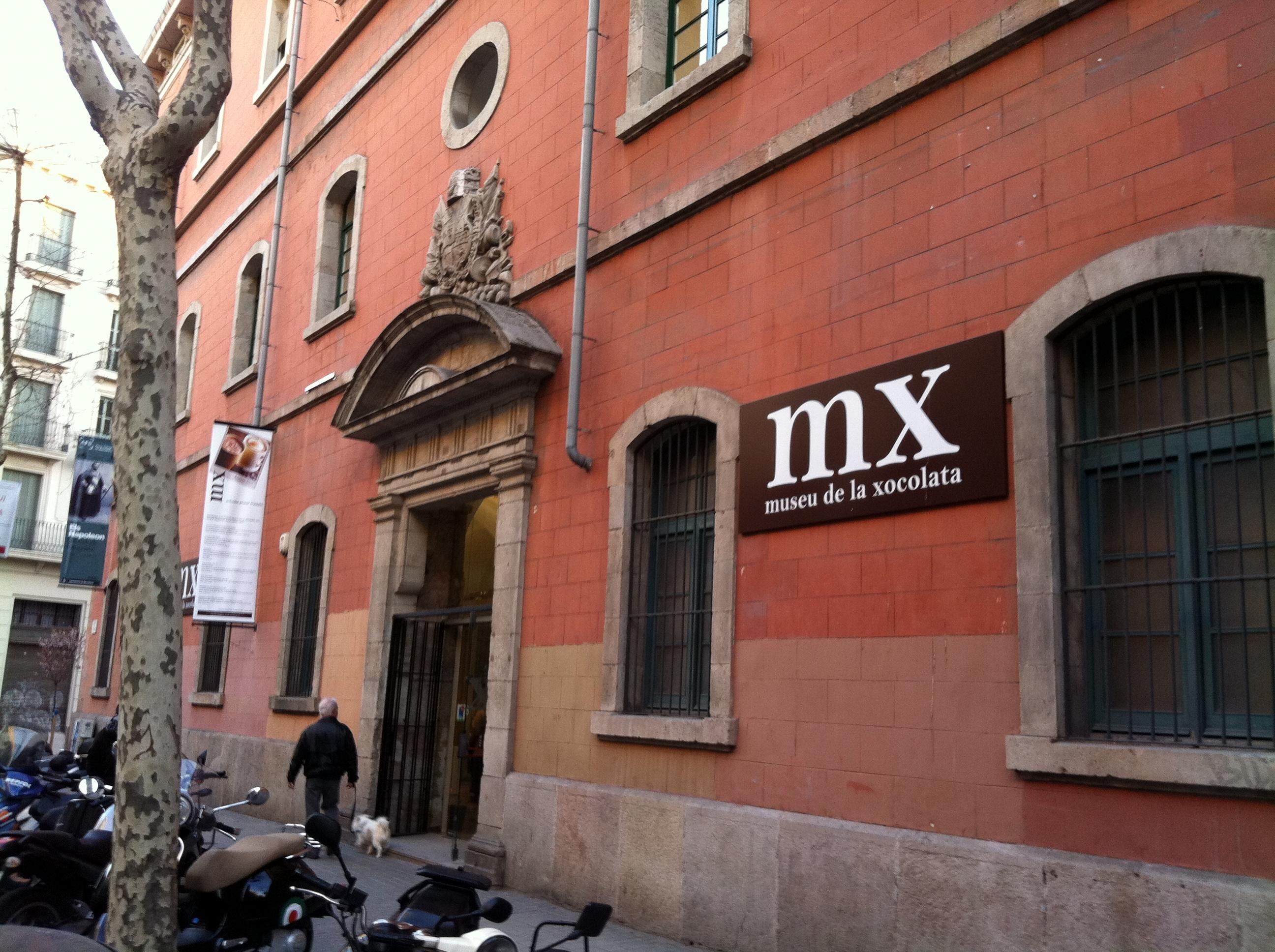 Museu de la Xocolata de Barcelona façana