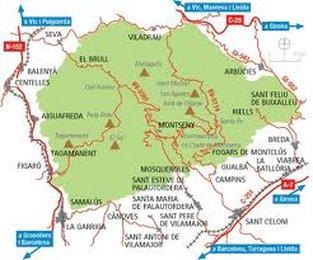 Montseny Natural Park Trails