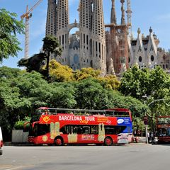 Barcelona Hop-on, Hop-off Buss